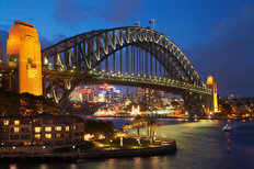 Sydney Harbour Bridge Wall Mural