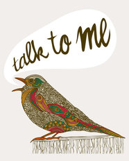 Talk To Me Wall Mural
