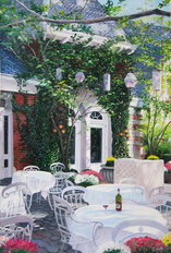 Tavern On The Green (Saxe) Mural Wallpaper