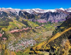 Telluride, CO In Autumn Wall Mural
