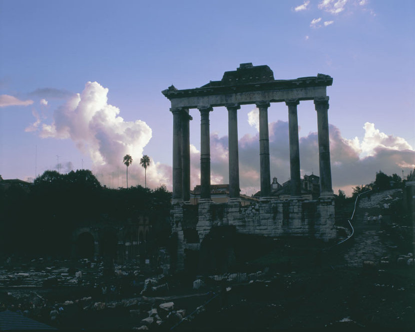 Temple Of Saturn Wall Mural