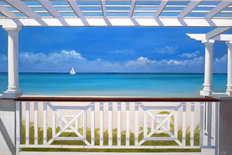 Terrace Royal West Indies Wall Mural