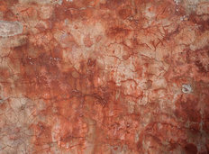 Rust Stucco Texture Wall Mural