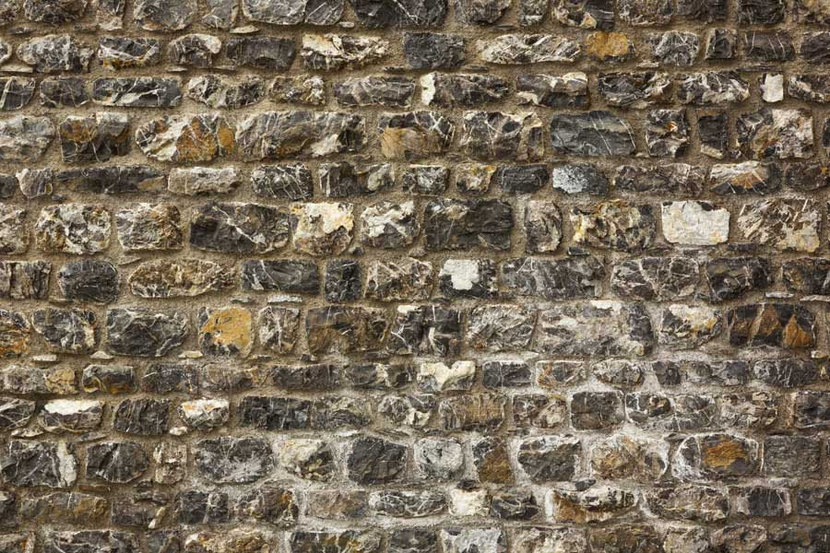 Old Stone Wall Texture Wallpaper Mural