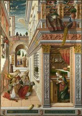 The Annunciation W/ St. Emidius Wall Mural
