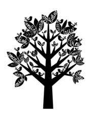 The Believe Tree Wall Mural