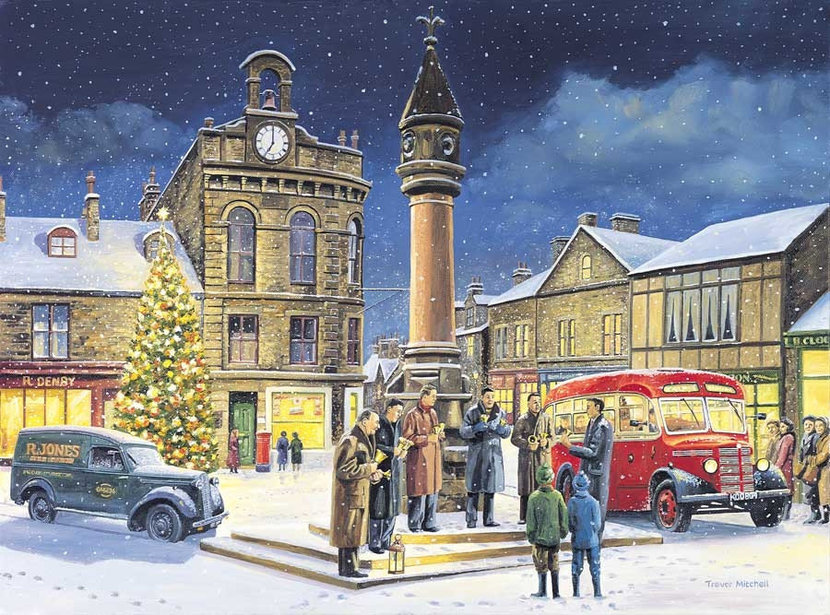 The Bells Of Christmas Wall Mural