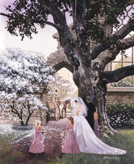 The Bridal Path Wallpaper Mural