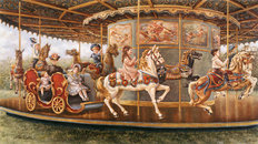 The Carousel Mural Wallpaper
