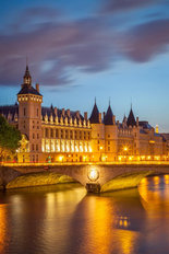 The Conciergerie at Twilight Wall Mural