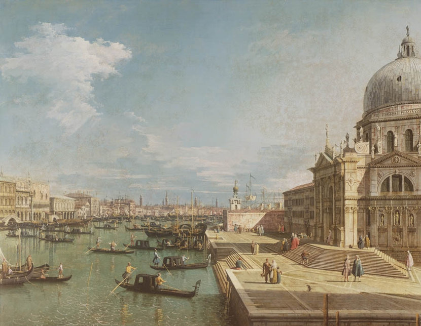 The Entrance to the Grand Canal Wall Mural