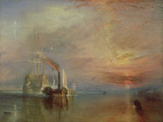 The Fighting Temeraire Wall Mural