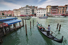The Grand Canal, Venice, Italy Mural Wallpaper
