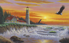 The Guiding Light Mural Wallpaper