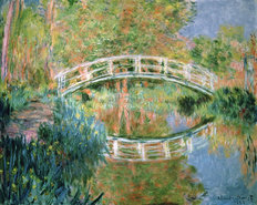 The Japanese Bridge Giverny Mural Wallpaper