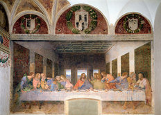 The Last Supper Mural Wallpaper