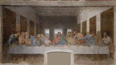 The Last Supper Version 2 Wall Mural