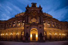 The Opera House, Dresden, Germany  Wall Mural