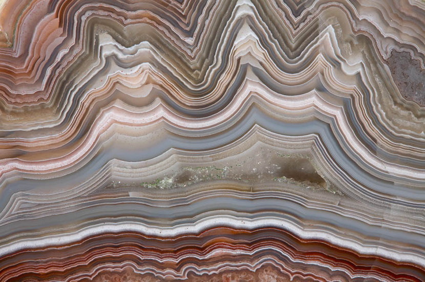 The Polished Cut of Agate Wall Mural