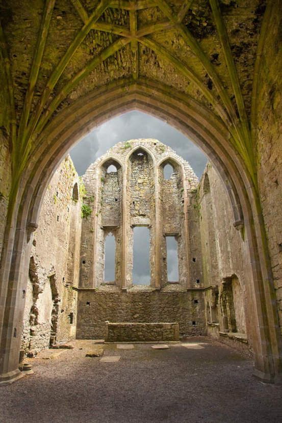 The Ruins of Hore Abbey, Ireland Wall Mural