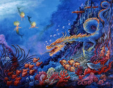 The Sea Dragon Wall Mural