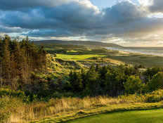 The 2nd Hole at Cabot Cliffs Wall Mural