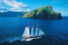 The Shenandoah, Marquisas Islands Mural Wallpaper