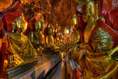 Thousands of Buddhas Wall Mural