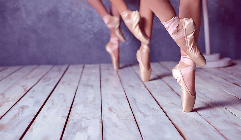 To The Pointe ballerina dance image