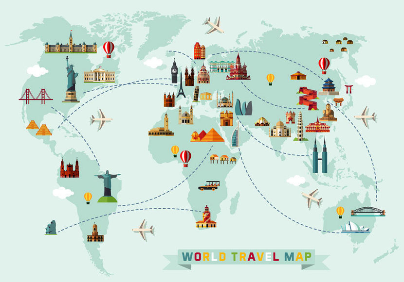 Travel The World Map
