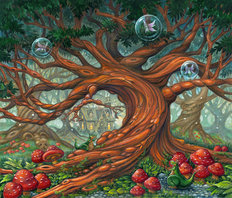 Tree of Enchantment Mural Wallpaper