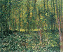 Trees and Undergrowth Mural Wallpaper