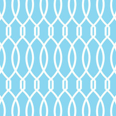 Trellis - Blue Wallpaper