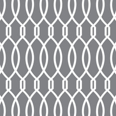 Trellis - Gray Wallpaper