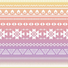 Watercolor Ombre Tribal Aztec Wallpaper