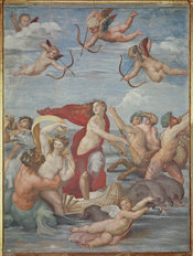 The Triumph of Galatea Mural Wallpaper