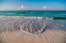 Tropical Beach Gulf Of Mexico Mural Wallpaper