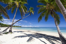 Tropical Paradise On Fiji Island Mural Wallpaper