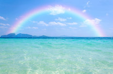 Tropical Rainbow In Thailand Wall Mural