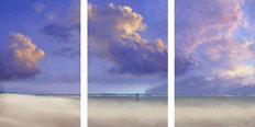 Tryptych Sky Mural Wallpaper