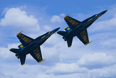 Two F-A18 Hornets Wall Mural