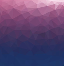 Ultra Violet Geo Ombre Wallpaper Mural