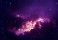 Ultra Violet Night Wallpaper Mural