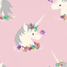 Unicorn Cameo Pattern Wallpaper