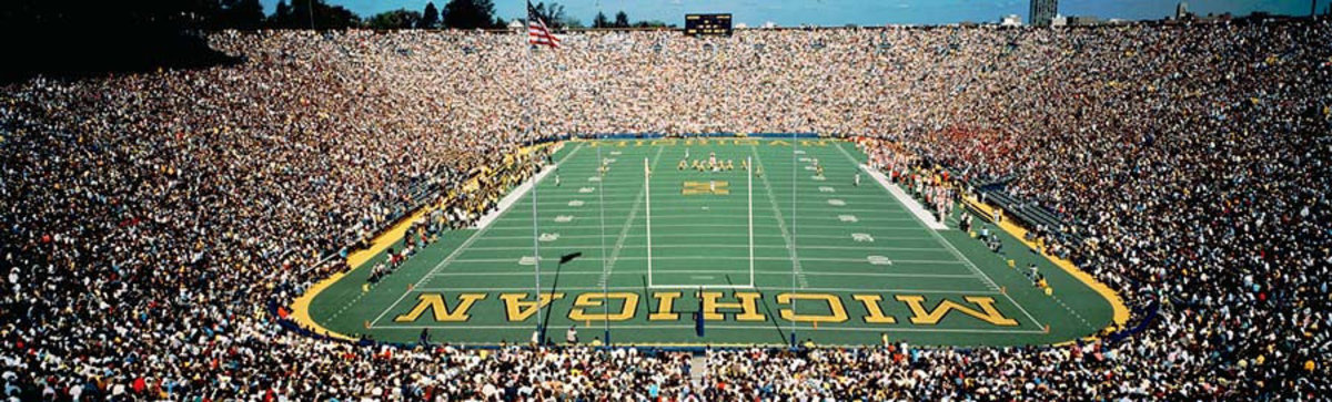 University Of Michigan Stadium, Ann Arbor Wall Mural