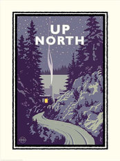 Up North Minnesota Wallpaper Mural
