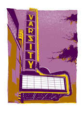 Varsity Theater Minneapolis Wall Mural