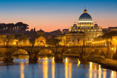 Vatican Twilight Wallpaper Mural