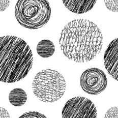 Vector Hand Drawn Pattern Wallpaper