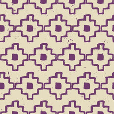 Purple Abstract Pattern Design Wallpaper